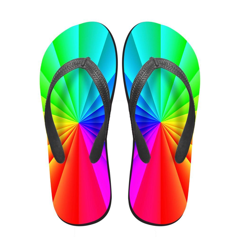 NOISYDESIGNS 3D di colore della caramella casuale delle donne Flip Flops Summer House and Beach antiscivolo Flipflops donna signora morbido Slipper Mujer