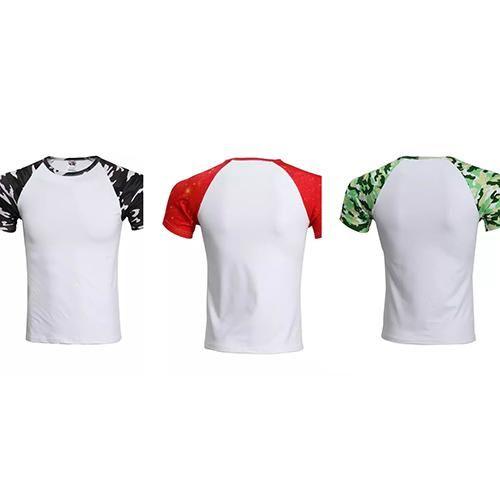 La mejor nueva camiseta corta de la camisa de la camiseta de secado rápido transpirable dj-90