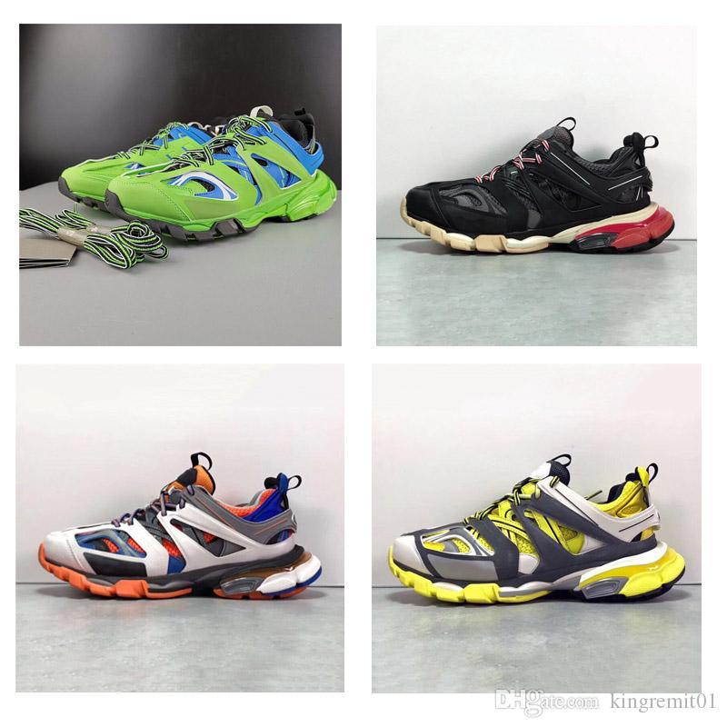 2019 mode Luxus Dreibettzimmer S 3,0 Tess... Gomma Trek Laufschuhe 3 Mt Designer Echte Qualität Neue Ankunft Sneaker Clunky Sneaker Sport Trainer