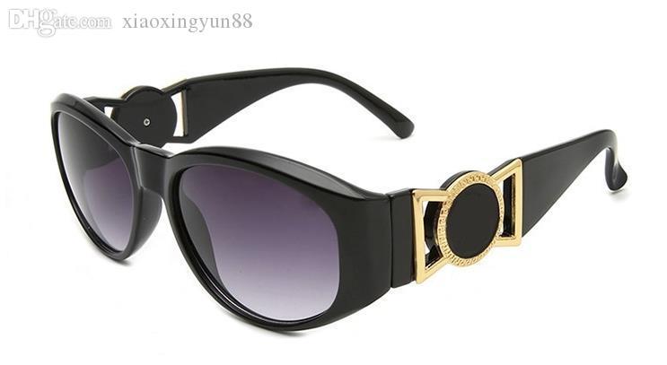Été de style italie medusa lunettes de soleil cadre femmes hommes marque designer protection UV lunettes de soleil lentille claire et revêtement lentille sunwear