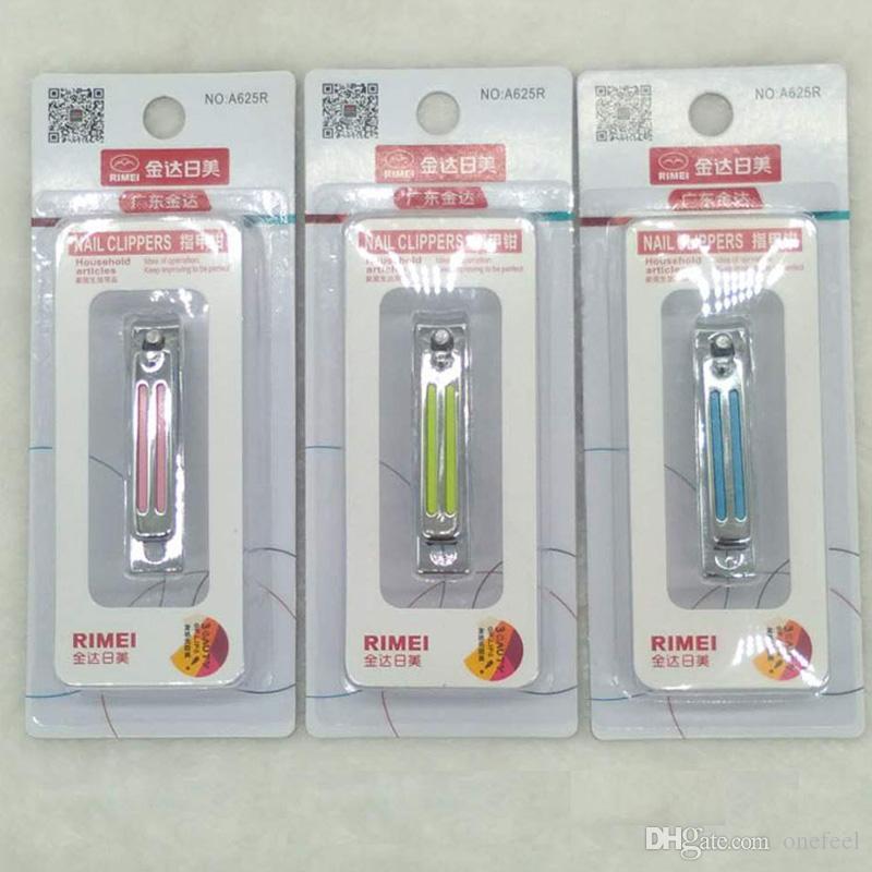 Podadoras de uñas de alta calidad Cortadoras de uñas de acero inoxidable envueltas individualmente Cortadoras de uñas de boca plana Herramientas de manicura