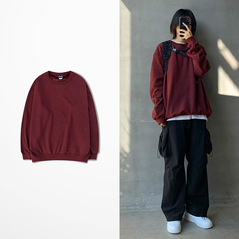 New Winter Warm Fleece Hoodies Men Women Hip Hop Skateboard Quality Sweatshirt Men Wine Red Blue Orange 20 Color Hoodies