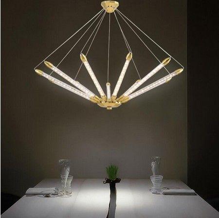 Постмодернистская люстра творческая личность дизайнер геометрические лампы Nordic LED Art гостиная столовая спальня люстра LLFA