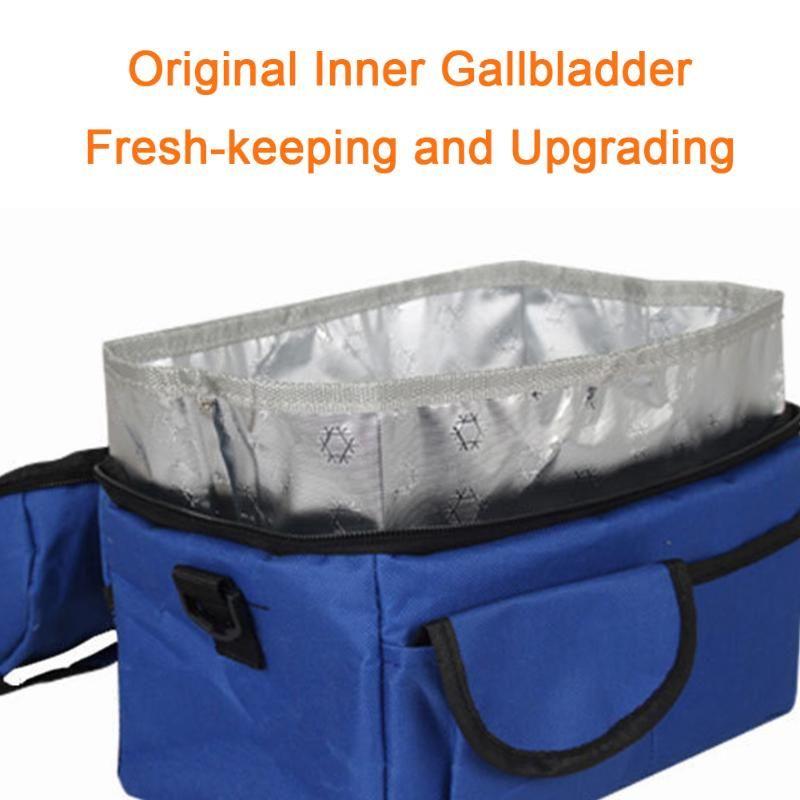 Lunch Bag Multifuncional fresco Keeping Duplas Tote refrigerador Unisex Leakproof Picnic viagem reusável Duplo Escritório Camada