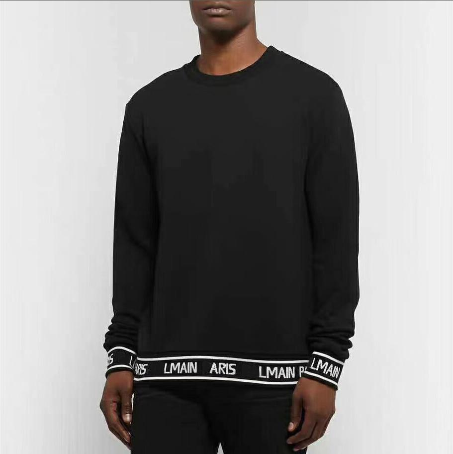 Marca di vestiti con cappuccio 2020 Mens via di Hip Hop Sweatershirts Mens solido di colore a maniche lunghe maglioni Tt2001032