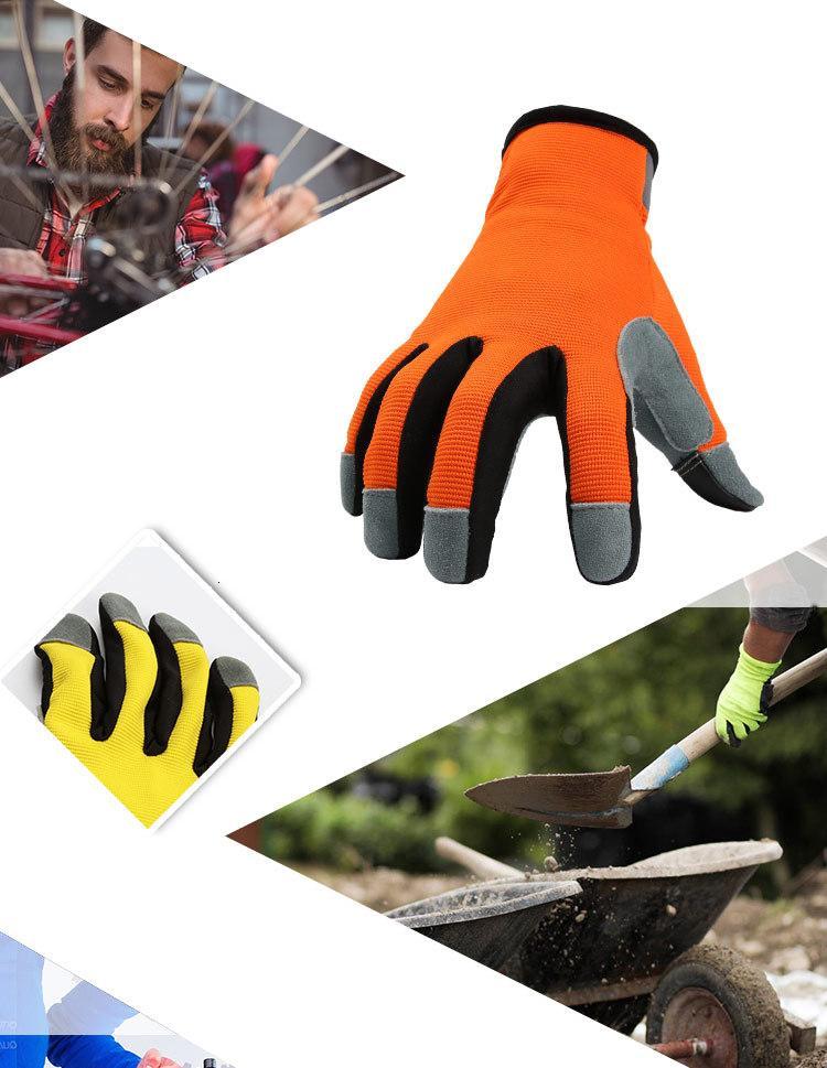 Av geyik derisi eldivenler Bisiklet Sonbahar Kış İzoleli Dokunmatik Ekran Çalışma Eldiven Dayanıklı Dış Mekan Yürüyüş Tırmanma Wear Isınma