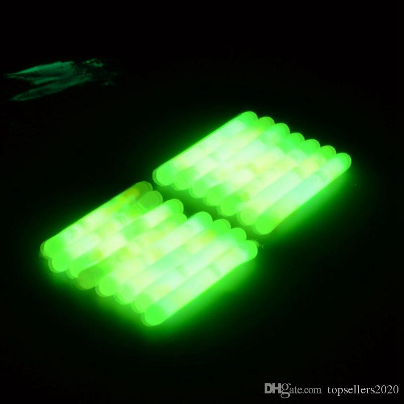 4,5мм 50pc / серия Light Night Float Rod огни Dark Glow Стик Полезное Рыбалка Fluorescent Lightstick