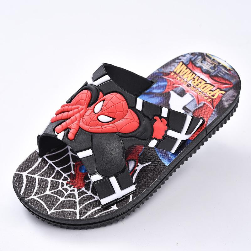 Spiderman Boy/'s Toddler Slipper