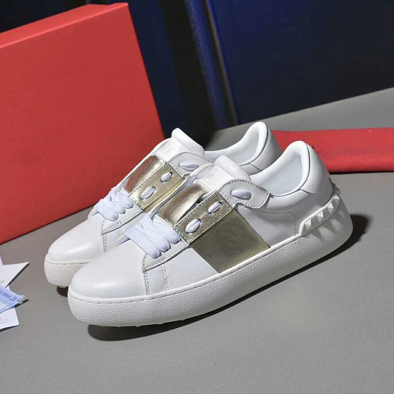 Valentino shoes 2020 nuevo Speed Casual Trainer Hombres Mujeres Zapatos de calcetín alto Negro Azul Rojo Sólido gner Zapatillas de moda Tenis Zapatillas de deporte para caminar