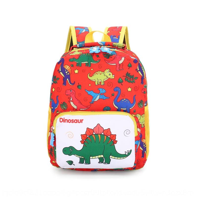 vK1Xn Petit jardin d'enfants Dinosaur Cartable 2019 SchoolbagBackpack Bagnew mignon dessin animé petit sac à dos Cartable enfants pendant 2-5 ans ol