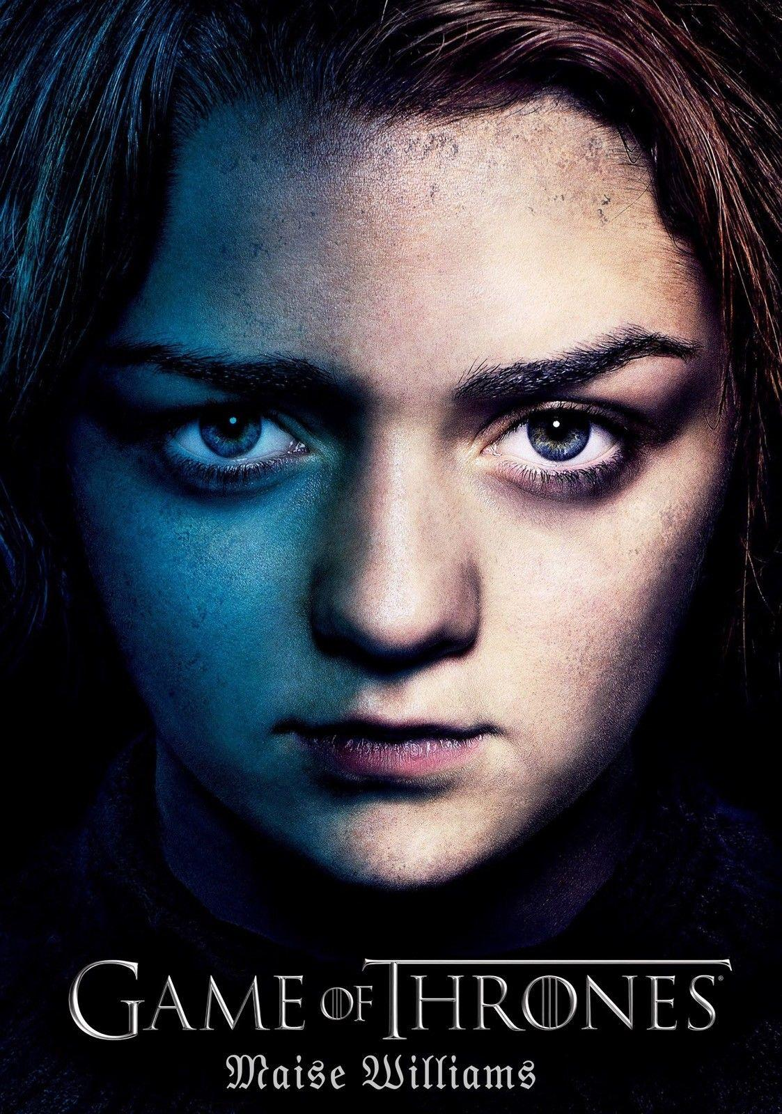 MAISIE WILLIAMS Série Actress Art Game Of Thrones Arte De Queda De Seda Cartaz Impressão 24x36 polegada (60x90 cm) 04