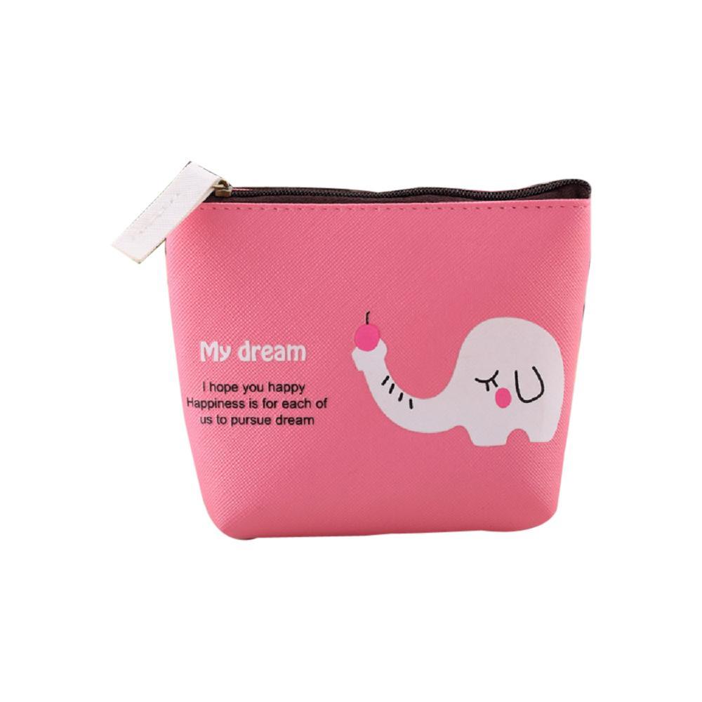 Designer-Jungen-Mädchen-nette Karikatur-Tiergeldbörse Tasche ändern Tasche Schlüsselhalter Mini Reißverschluss-Tasche Pouch Geldbörsen
