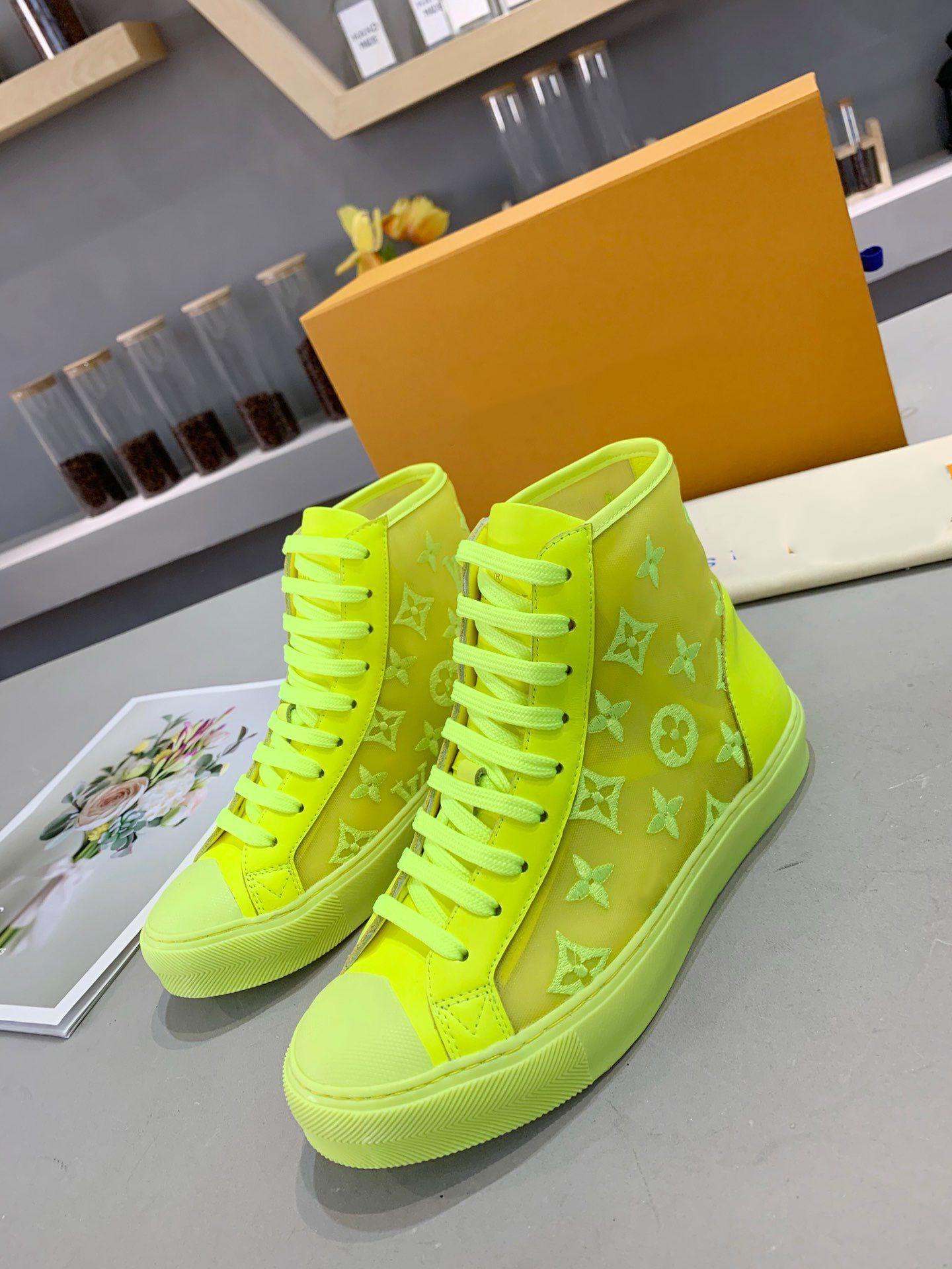 2020 do New Men velocidade Sneakers Moda de Luxo Homens Sneakers de alta qualidade barato Lace Casual Frame Size 35-45 mn03S1