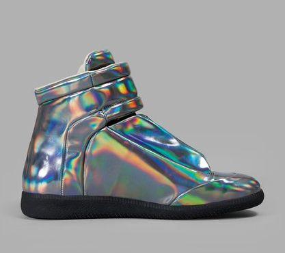 2020 Fsahion erkek ayakkabıları yaz yeni büyü renk gerçek deri yüksek top falt ayakkabı Kutusu ile 38-47