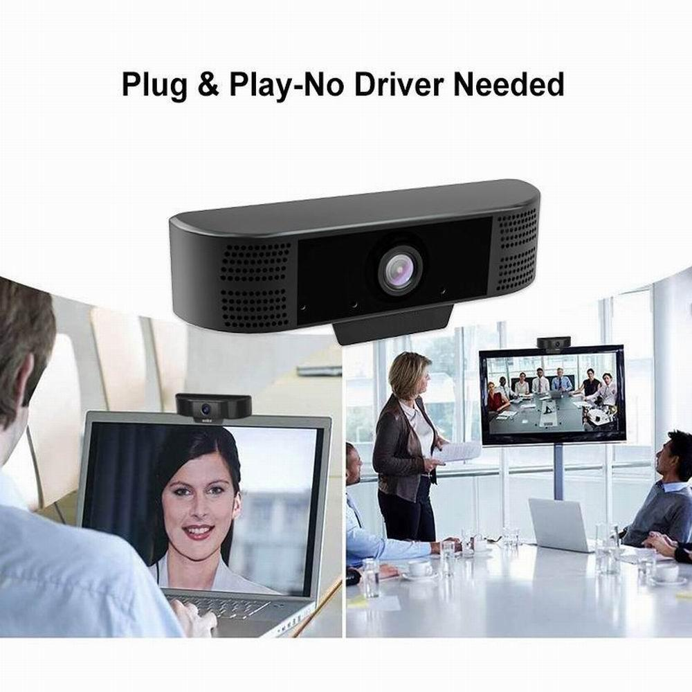 Full HD 1920*1080P usb webcam 2MP Auto Focus Webcam With Noise Reduction Mic USB Web Camera Video Conference For Laptop Computer