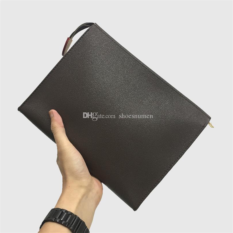 Handtaschen Kulturbeutel Handtaschen Portemonnaie Herren Geldbörsen Damen Handtasche Schultertasche Mappen-Kartenhalter Art und Weise Mappen-Kette Schlüsseltasche 16-59