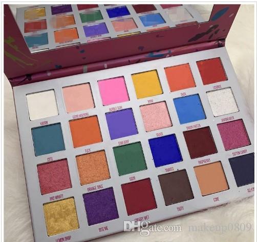 neue Kosmetik makeupNew Augen Make-up Fünf-Sterne-Lidschatten-Palette 24 Farben Stern Lidschatten-Paletten-Augen-Schatten-freies Verschiffen