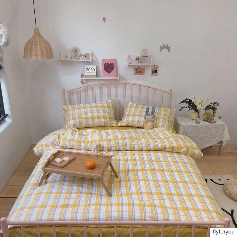 Designer Super popular, cura vermelho on-line é de 40 sarja de algodão puro conjunto de quatro peças ins vento cama EURO Luxo