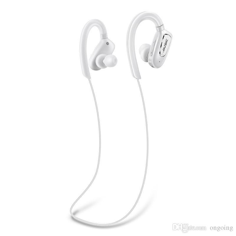 iphone 11 Samsung S10 + note10 İçin Yüksek kaliteli Kablosuz Spor Bluetooth Kulaklık CSR4.1 Stereo Kulak Kulaklık