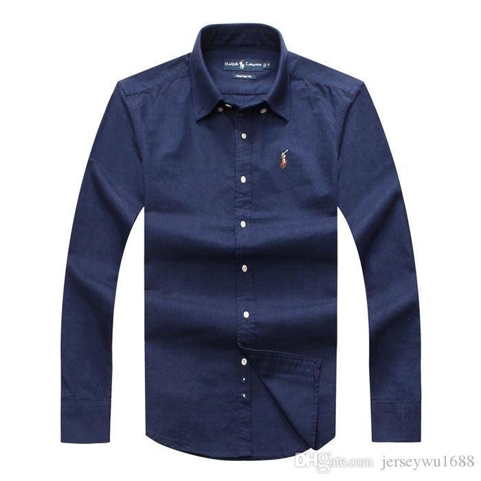 2020 Marque Hommes d'affaires hommes shirt décontracté à manches longues rayé coupe slim masculina sociale T-shirts mâle homme nouveau mode chemise à carreaux