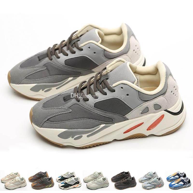 Uomo 700s Sneakers Womens Kanye West Analog Allenatori Kanyest Mauve Sport Scarpe Sale da corsa Salt Shoe Inertia Teal Men Magnete Blu