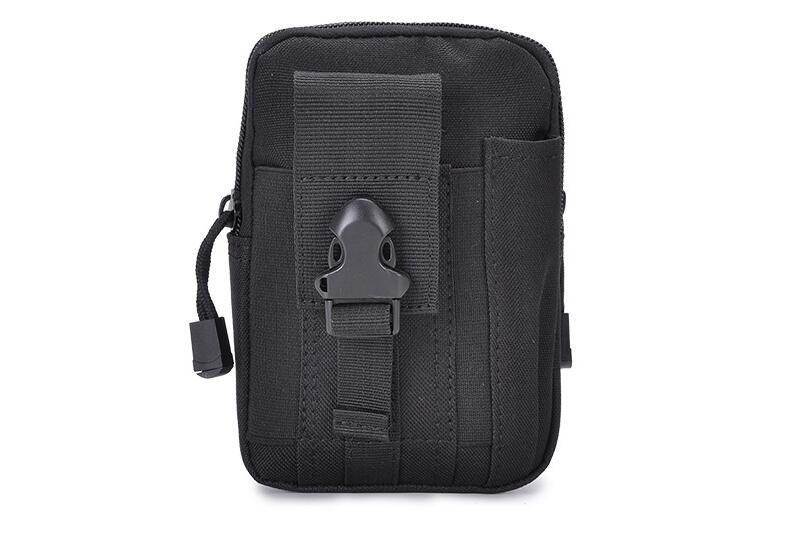 Universale Tactical Outdoor Holster Militare Molle Hip Bag Cintura portafoglio Custodia Borsa Phone Case con cerniera Fanny Pack Pocket 2019