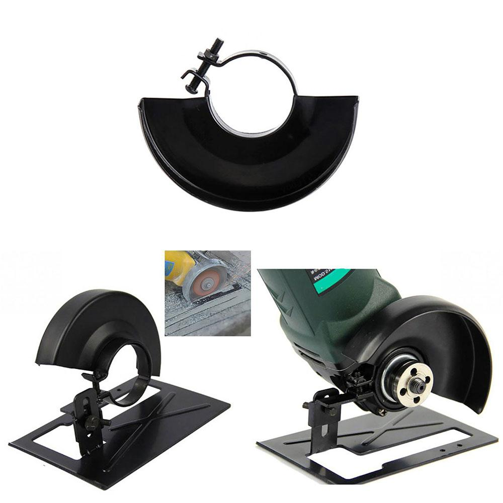 Angle Grinder Holder Cutting Machine Cover Base Metal Wheel Guard Safety Protector Safety Protector Cover