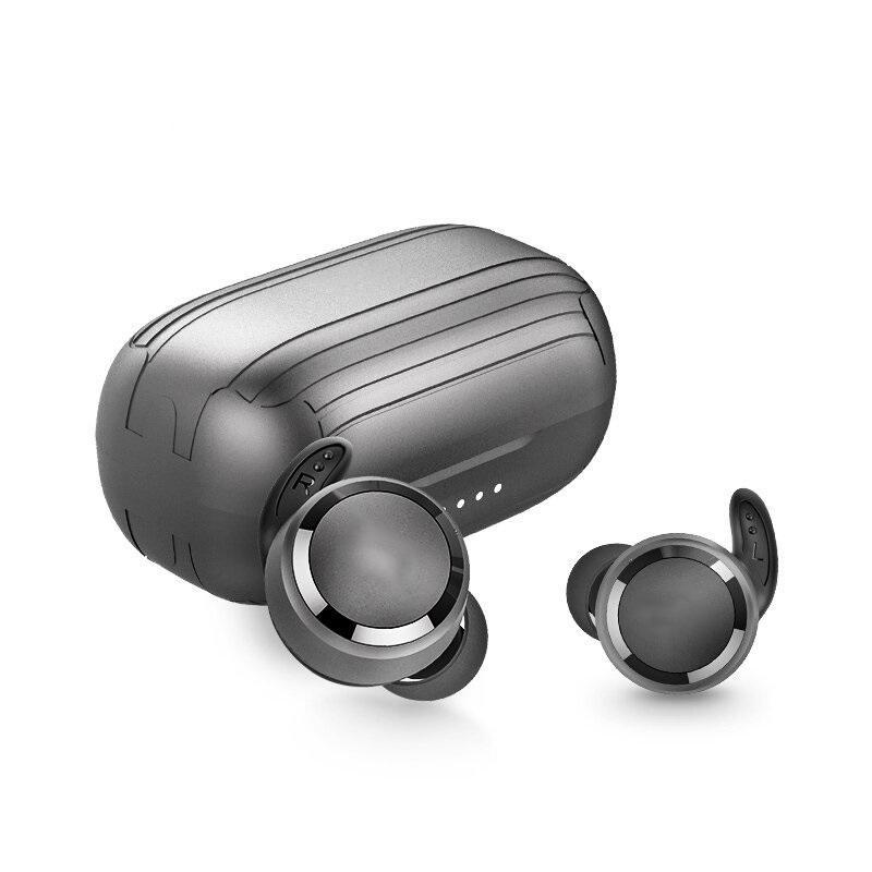 Наушники TWS Renaze Pro Всплывающие окна Bluetooth Наушники Авто Белочный Зарядки Чехол Уайт Уайт