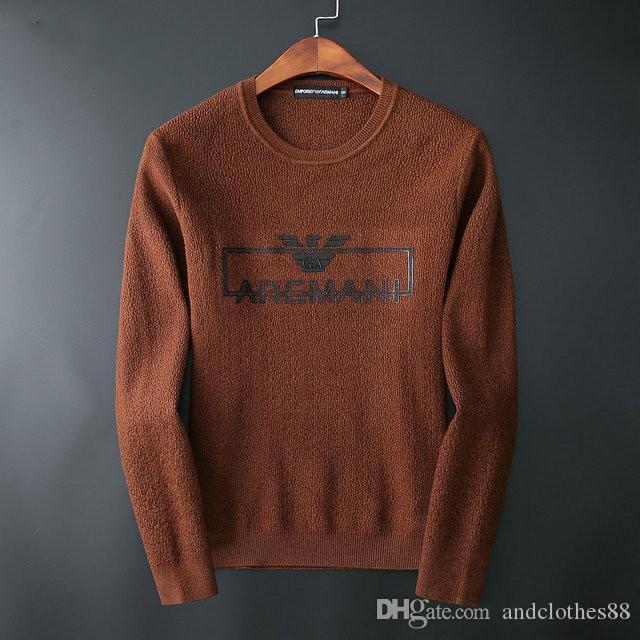 2020 última de alta gama internacional suéter ropa deportiva de moda suave y cálida sudadera hombre capa de la chaqueta exquisitos puente suéter de marca