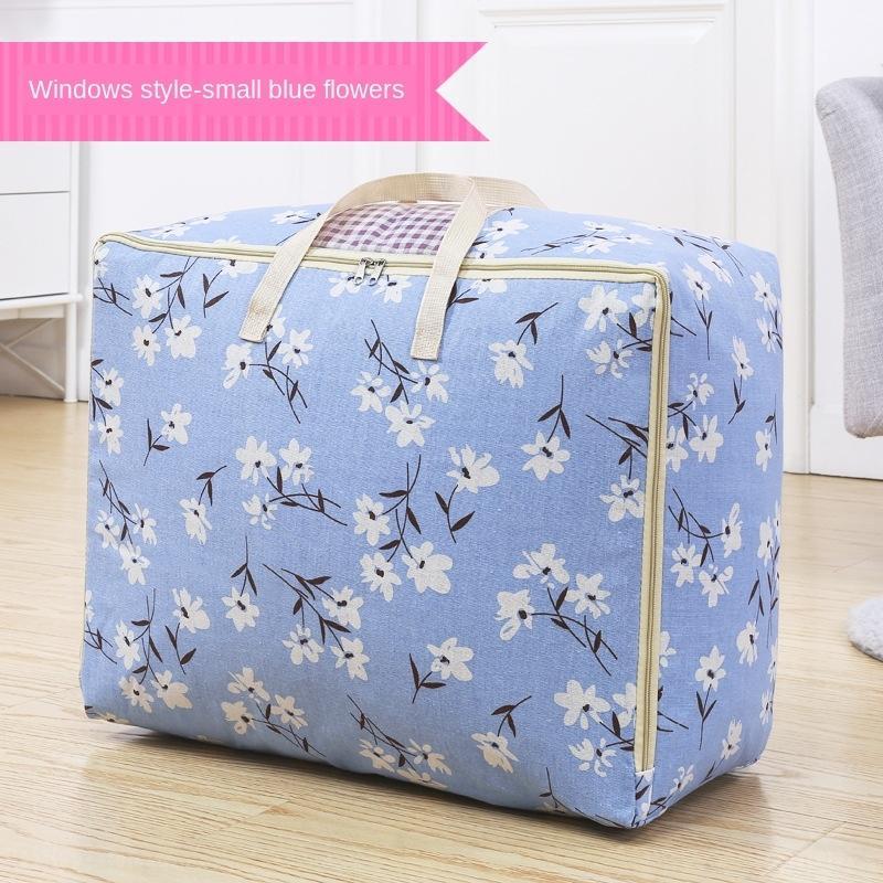Umzug Gepäckaufbewahrung große Kapazität Aufbewahrungstasche Quilt Tasche Kleidung aufräumt Steppdecken-Artefakt Verpackungskleidung