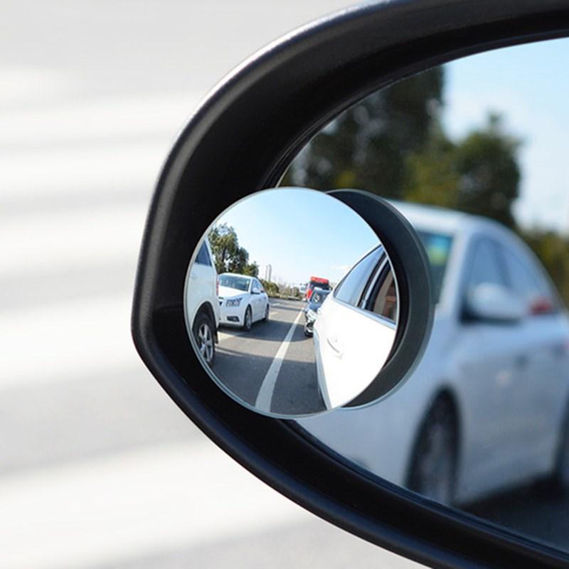 RUNDONG 자동차 거울 맹점 거울 광각 원형 볼록 360도 주차 후면 Mrror에 대한