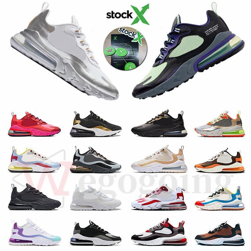 Alta qualità Reagire scarpe da Futures Silver Black Glod Camo Città di Velocità Proprio Bauhaus mare verde uomini donne di sport scarpe da ginnastica di marca in esecuzione