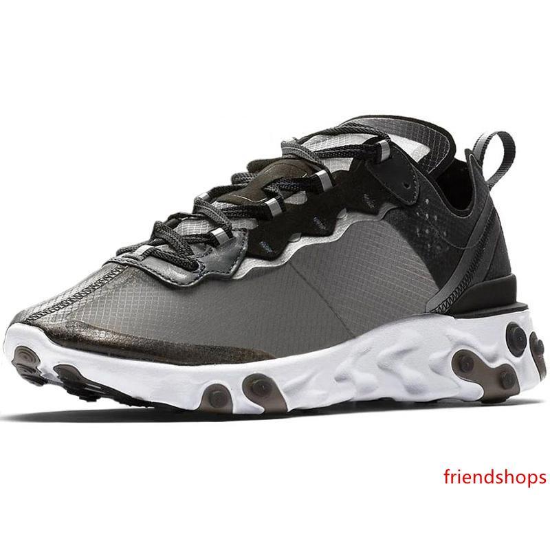 UNDERCOVER x Próxima Reaccionar Element los zapatos corrientes 87 Paquete de las zapatillas de deporte blanca Marca Hombres Mujeres Hombres Mujeres Trainer diseño Zapatos Nuevos