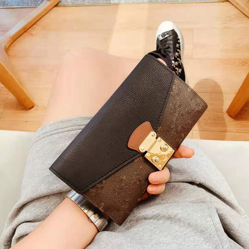 New Han Edition Wallet Restoring Ancient Ways Female Long Printing Color Joker Lock Phone Bump Card BaoChao for Women High Quality Handbags