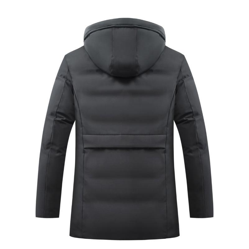 CYSINCOS Зимнее пальто Мужские толстовки куртки ветровки Теплый Hoodie Parka Мужские куртки и пальто Casaco Толстая Outwear Мужчина для