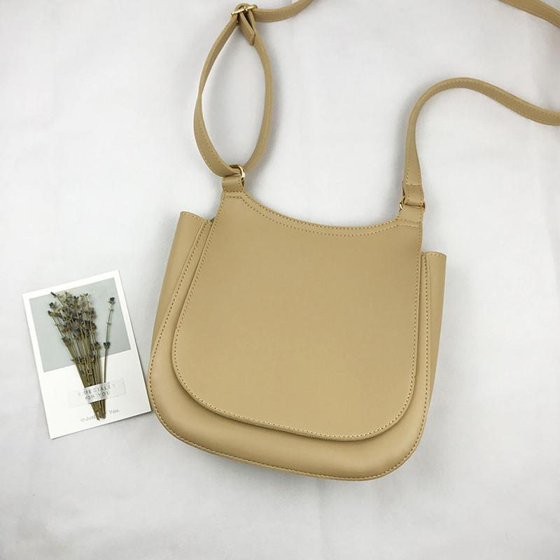 Designer-Casual Shoulder Messenger Bag Womens saco macio PU de couro Senhoras bolsas coreano Estilo Bandoleira Sacos Famous Brands Saco de mão