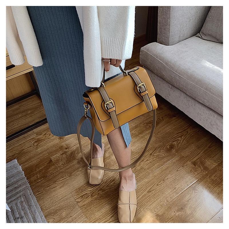 2020 Nouveau style rétro Cool Fashion épaule Sac à bandoulière / Sac à main FEMMES sac des femmes de sacs à main et sacs à main