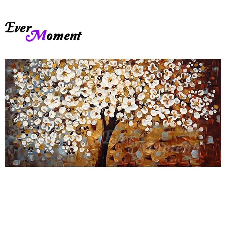 wholesale Tree Diamond Painting Full Square Drill Cross Stitch Rhinestone Wall Home Decor Diamond Embroidery 5D DIY S2F1316