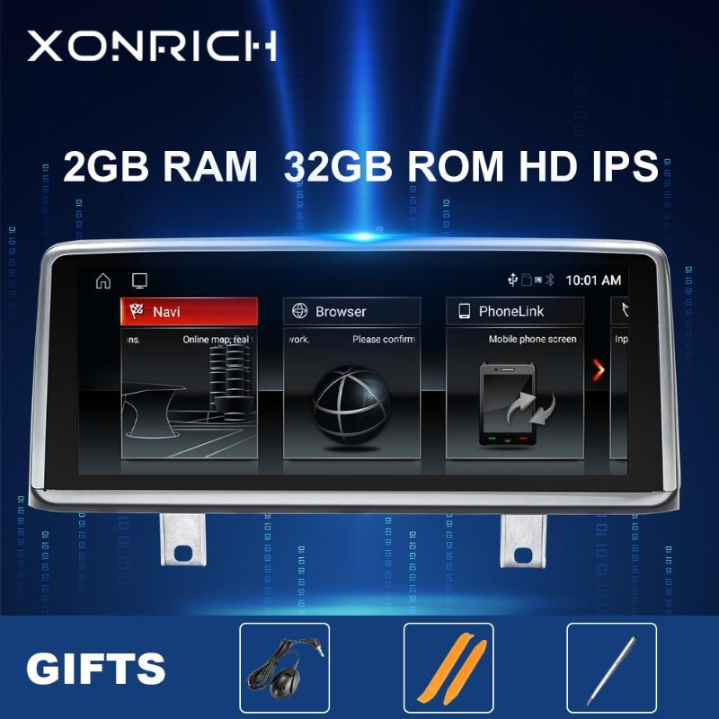 """IPS 10,25 """"Android 10 coche Radio reproductor Multimedia para la serie 3 4 F30 F31 F34 F32 F33 F36 navegación GPS estéreo Unidad Principal 2 GB coche dvd"""