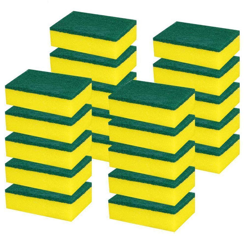 Pesados multi uso de esponjas de limpeza esfregar sem arranhões Magic Eraser esponja Scrubbing Prato Esponjas Use para cozinhas / Banho DHA465