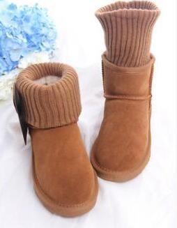 2018 yepyeni En kaliteli Avustralya Yün ağız Çizme WGG Pamuk çizme kadın Klasik Boots kar Boots kış Boot Yün ağız Boot