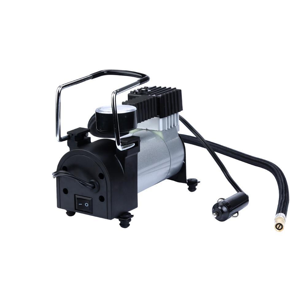 Franchise Pumps New Mini Air Compressor 12V Car Auto Portable Pump Tire Inflator For Bicycle Tires Sports Balls Compressor De Ar