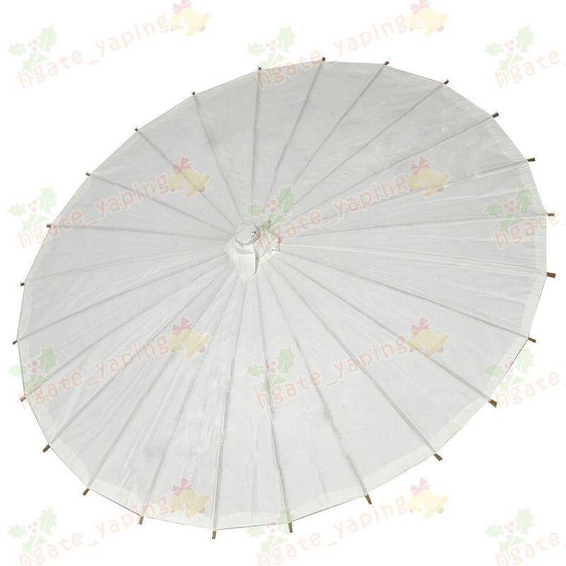 2019 gelinlik şemsiye Beyaz kağıt şemsiyeler Çinli küçük zanaat şemsiye 4 Çap: toptan için 20,30,40,60cm düğün şemsiye
