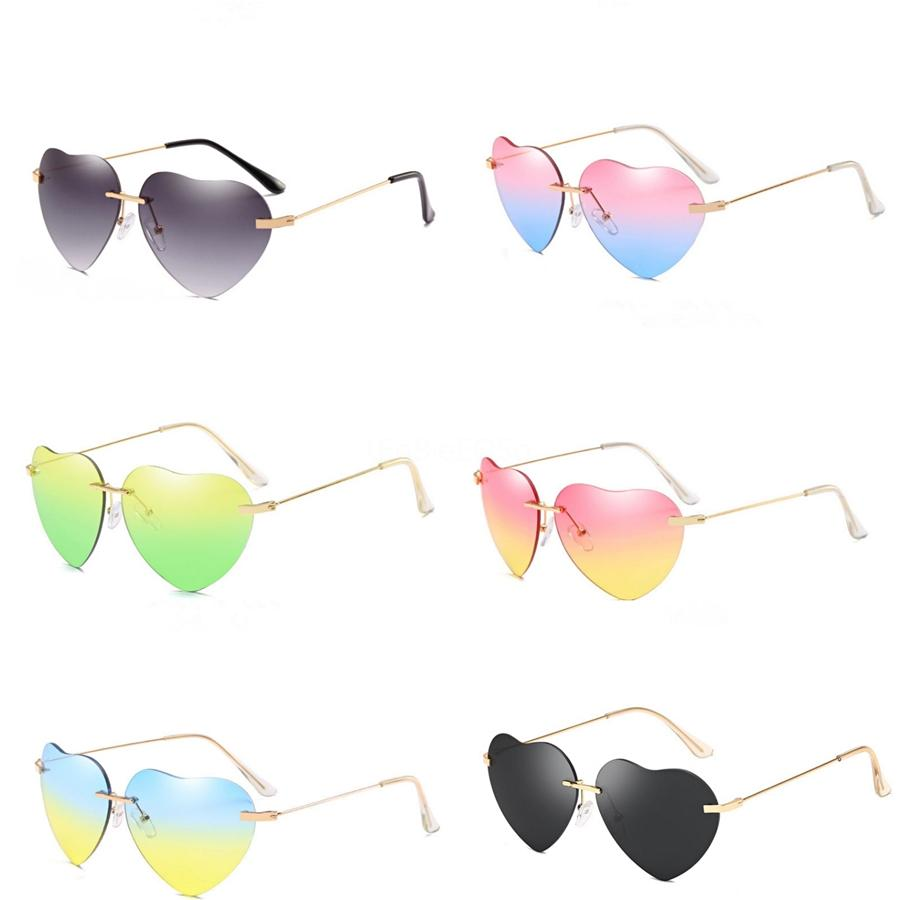 Night Vision Hd Vision Wrap Arounds Tv Multifunctional Heart-Shaped Sunglasee #39600