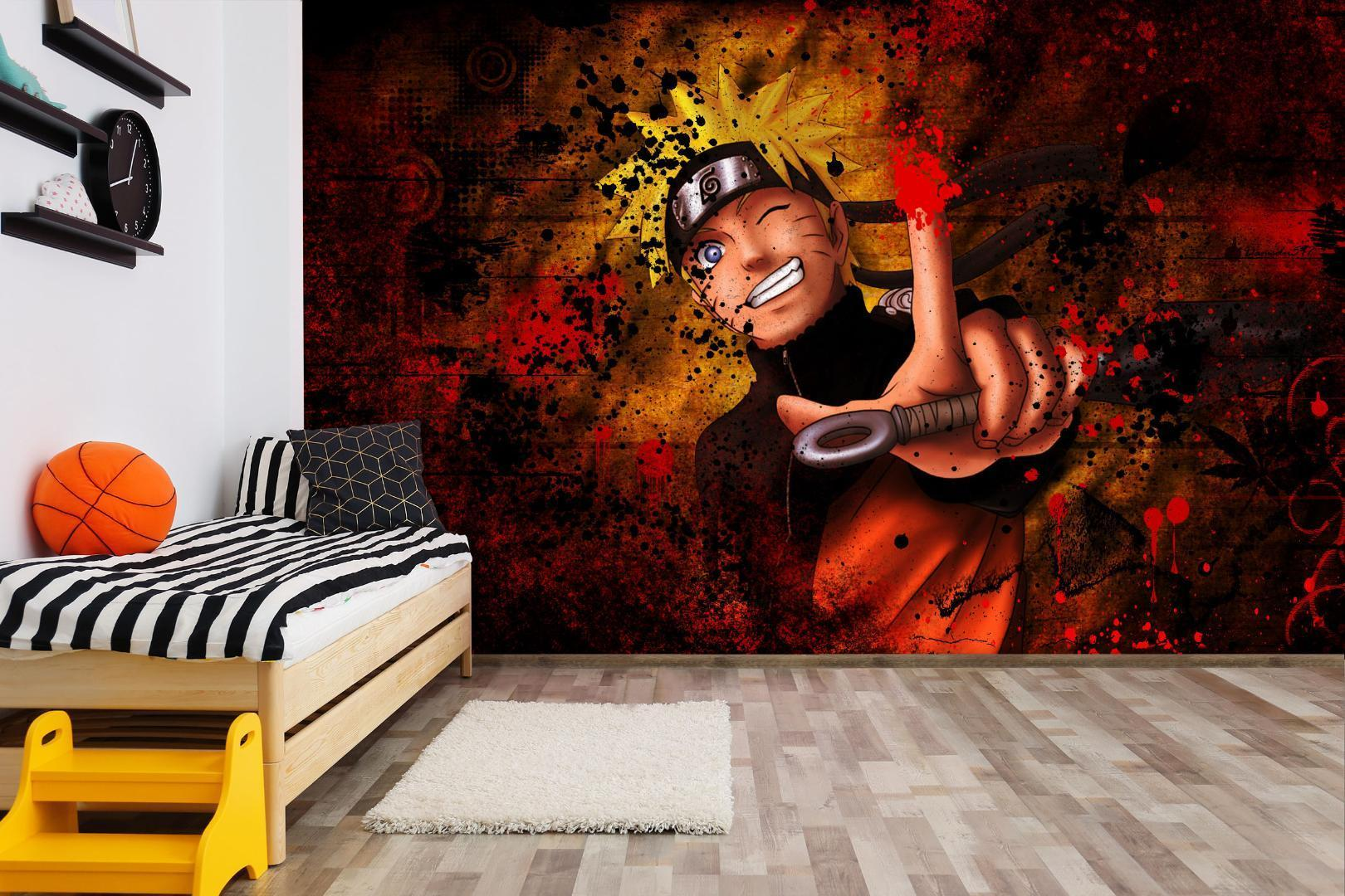 Self Adhesive 3D Naruto Japan Anime Wall Paper Mural Wall Print Decal Murals Free Pc Wallpapers Free Phone Wallpaper From Verynicegirl $25 75