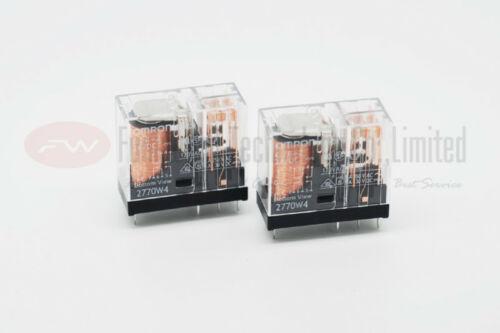 OMRON G2R-2 24VDC G2R-2-DC24 Relé de potencia 5A 24VDC 8 prendedores x 1pc