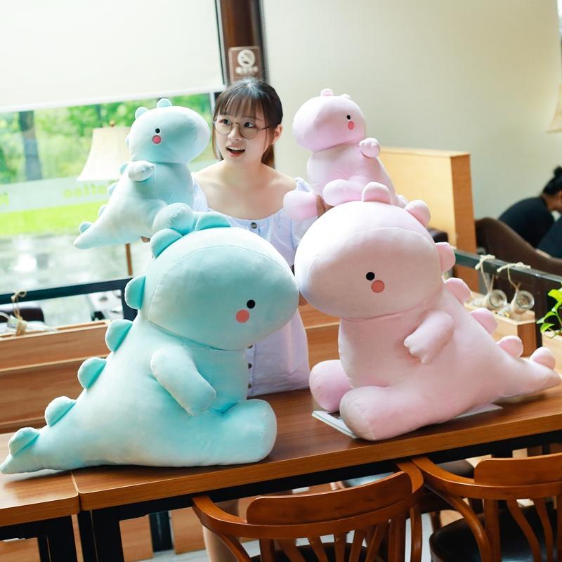 Новое поступление 30-50см динозавр плюшевые игрушки Каваи мягкие мягкие куклы животных для детей детские дети мультфильм игрушка классический подарок