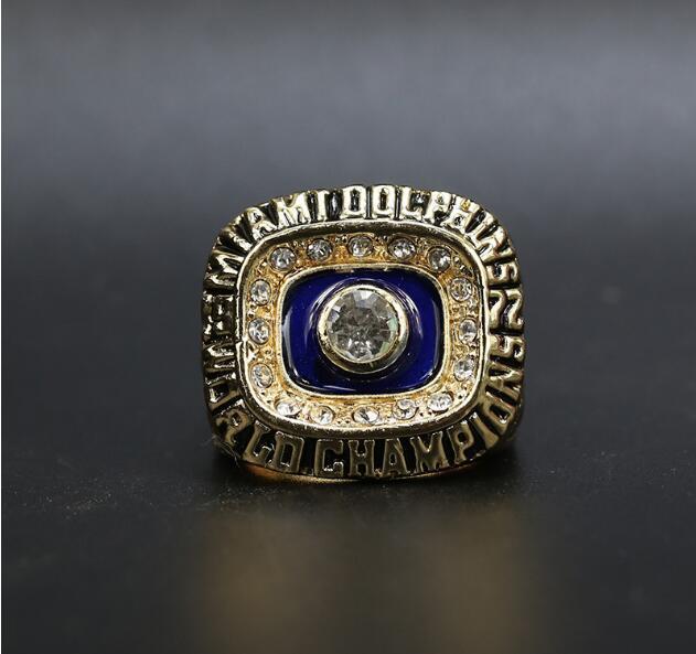 Fans'Collection1972Dolphin S Wolrd Şampiyonlar Takım Şampiyonası Yüzük Spor Hatıra Fan Promosyon Hediye Toptan40