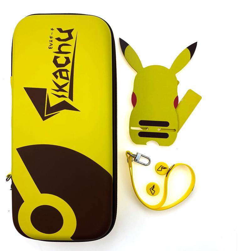 / 라이트 닌텐도 스위치 홀더 실리콘 캡과 EVA 하드 쉘 스토리지 박스 캐리 가방 보호 케이스