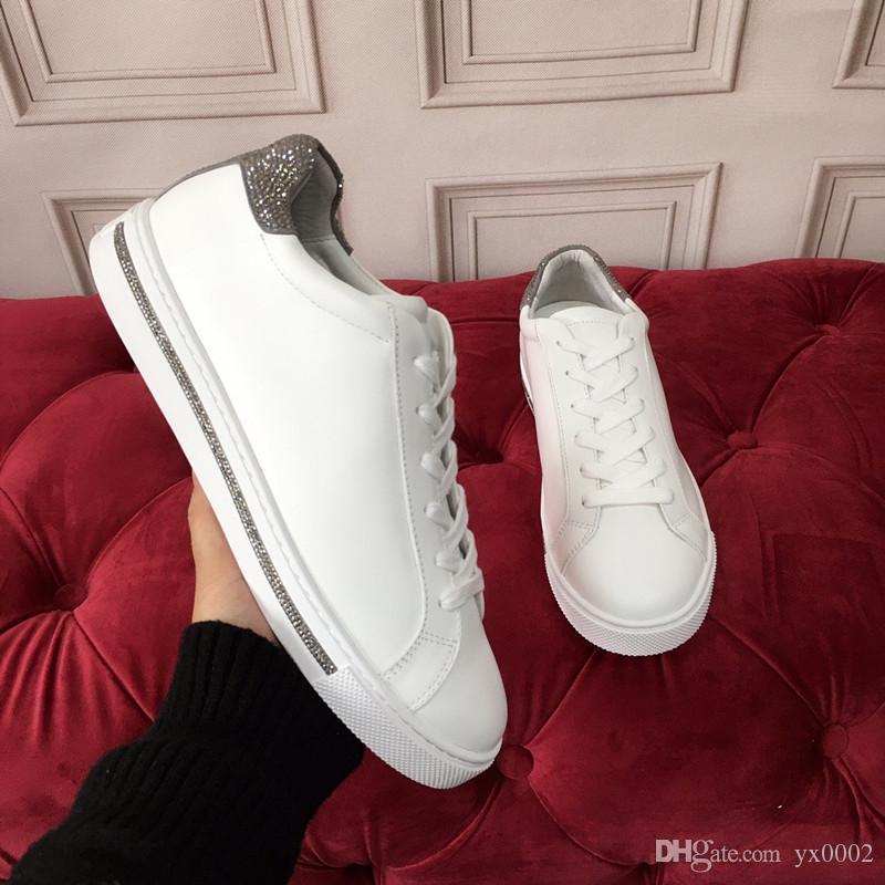 2020 del nuovo progettista dei pattini casuali formatori Mens scarpe da ginnastica per donne del progettista pattini correnti di sport hc19120604